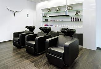 Friseur-Einrichtung